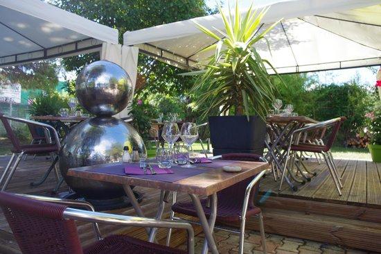 250 m de terrasse ensoleill e ou ombrag e picture of - Effet jardin lattes ...