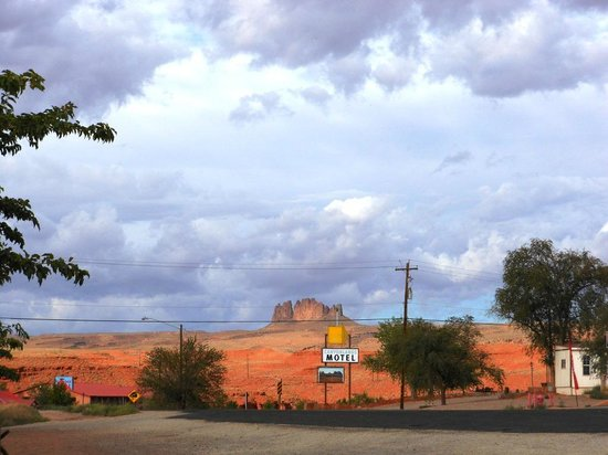 Mexican Hat Lodge and Swingin Steak: View