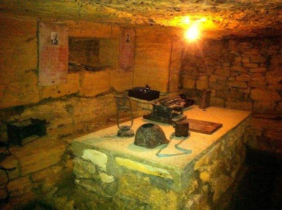Catacombs of Odessa: штаб партизан