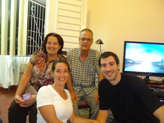 Casa Hilda y Alejandro: Con Hilda y Alejandro