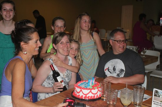 Locos Coronado Grill: Birthday party!