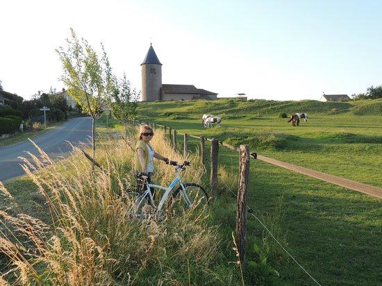 Chateau d'Alteville : приятно кататься на велосипедах