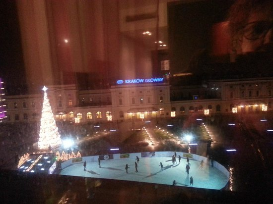 Vienna House Andel's Cracow : View from window