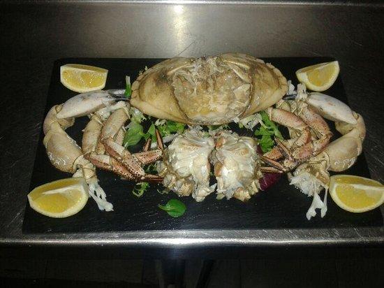 Restaurante Casa Vicente: buey de mar