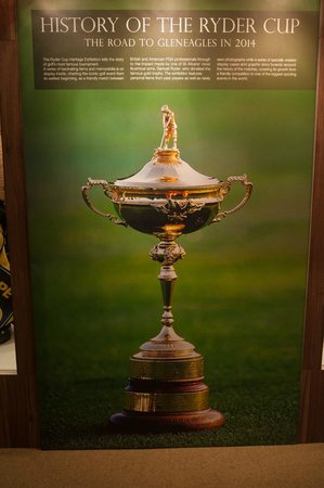 Linden Guest House: Ryder Cup Story In Museum