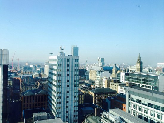 Mercure Manchester Piccadilly Hotel : View from the room
