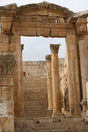 Ruinen von Gerasa: Temple to Artemis