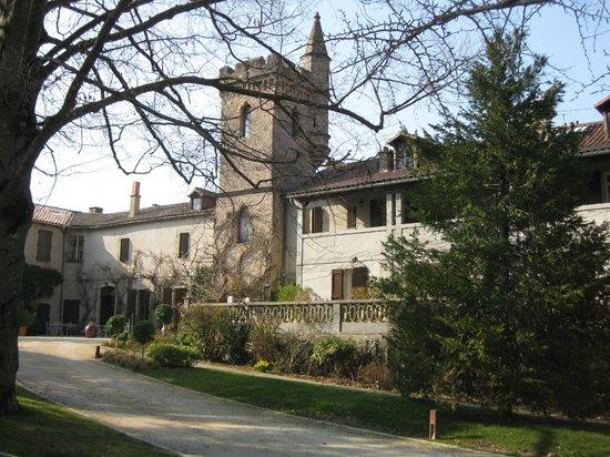 Hotel Restaurant Chateau de Creissels: arrivée à l'hôtel