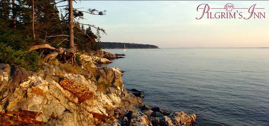 Pilgrim's Inn: Deer Isle is one of the most scenic locations on the entire Maine coast