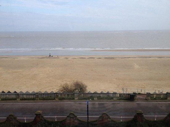 The Hotel Victoria: Sea view!