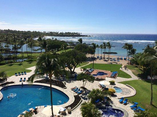 Mauna Lani Bay Hotel & Bungalows: Room w/ a view