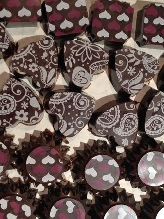 Indulge Bakery: assorted chocolates