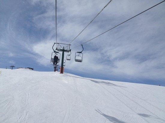 Mottolino Fun Mountain: La ' lentovia' :-(