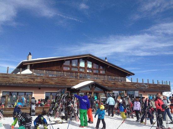 Mottolino Fun Mountain: Mottolino self service-Bar-Restaurant