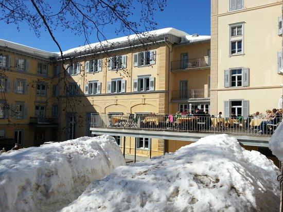 Hotel Saratz: Pitschna Scena restaurant