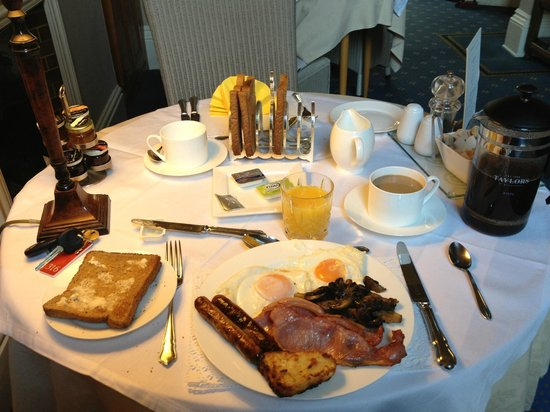 Alexandra Court Guest House: Best breakfast in Harrogate