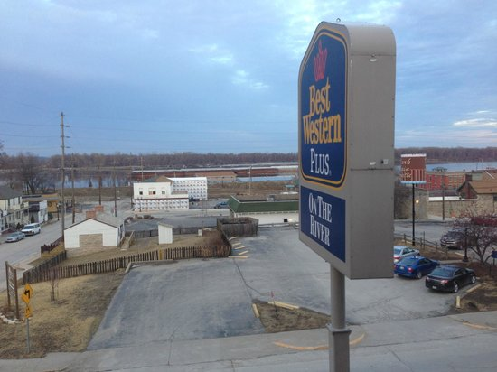 Best Western On The River: River view