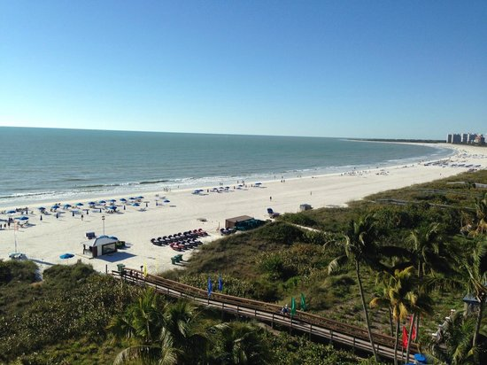 Hilton Marco Island Beach Resort--CLOSED FOR RENOVATIONS; REOPENING DEC. 1, 2017: View from balcony