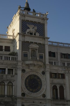 Markusplatz (Piazza San Marco): Lovely Clock