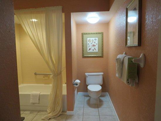 Palm Beach Shores Resort and Vacation Villas: Suite 519 nice bathroom