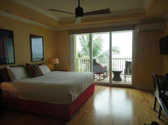 Lime Tree Bay Resort : the rooms are beautiful & the beds are comfy