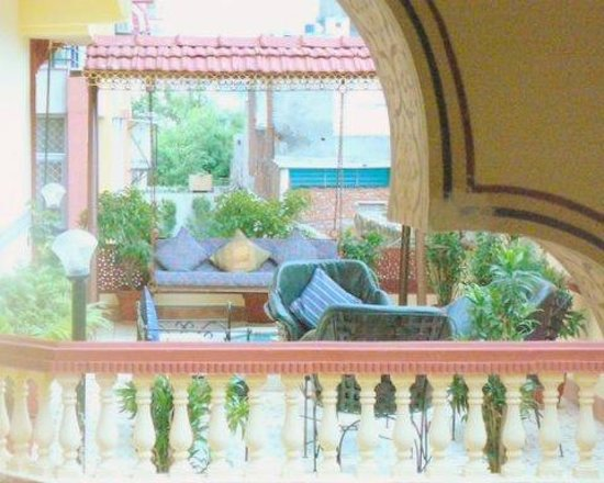 Umaid Bhawan Heritage House Hotel : Balcony of room across from ours