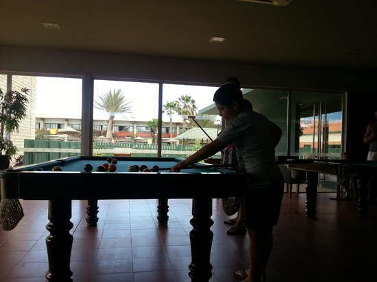 Hotel Oasis Belorizonte : Snooker no bar