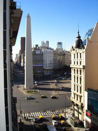 Broadway Hotel & Suites : Vista da janela