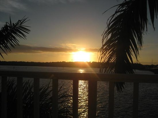 Boca Ciega Resort & Marina : from the patio