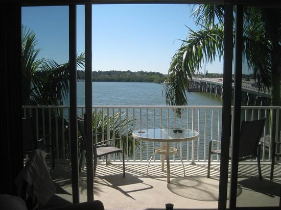 Boca Ciega Resort & Marina : from the living room