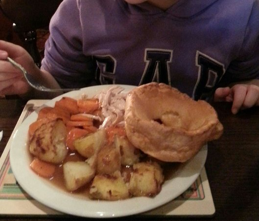 Toby Carvery Cleadon Village: Child's turkey...with watery gravy!