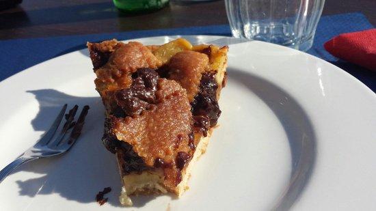 Ristorante Dal Pescatore: Crostata cioccolato e Pere
