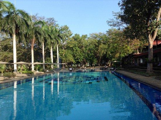 Cinnamon Lodge Habarana : Preciosa piscina