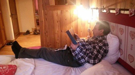 Hotel Chalet Plan Gorret : Fernando in relax