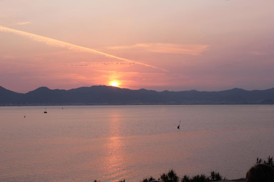Marmaris Imperial Hotel: Sunset from the restaurant terrace