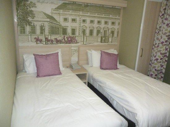 President Hotel: camas