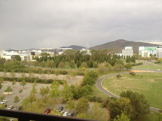 QT Canberra: View from 11th floor