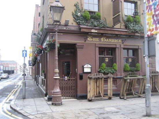The Garrick Bar: Before opening