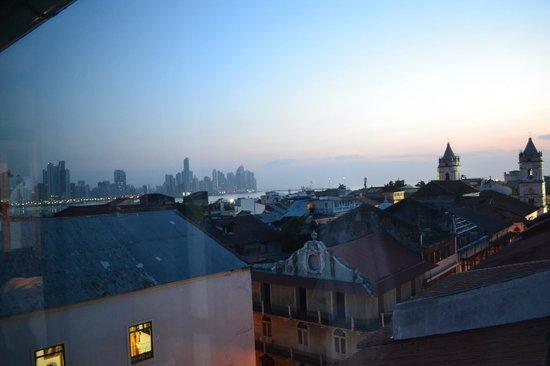 American Trade Hotel : View from Panarama room
