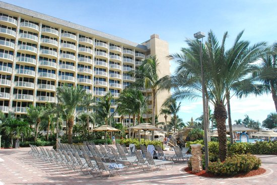 Marco Island Marriott Beach Resort, Golf Club & Spa: Hotel.