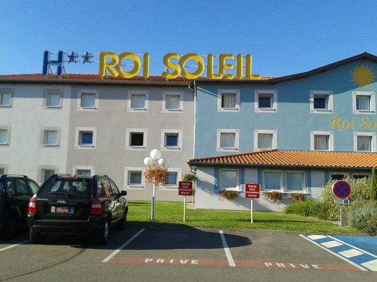 Hotel Roi Soleil Colmar: fachada