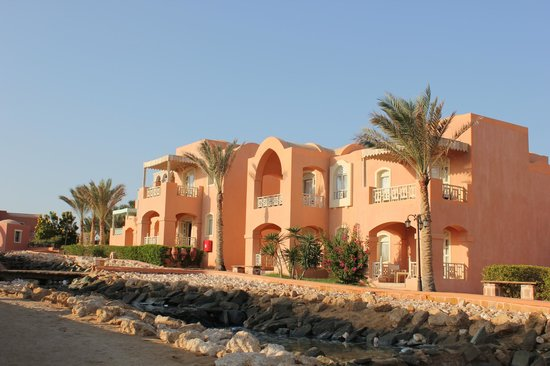 Radisson Blu Resort, El Quseir: vue sur des chambres/suites
