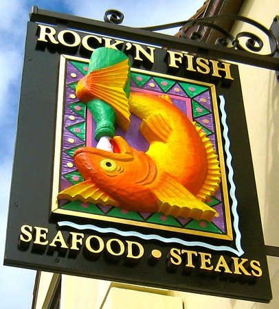 ROCK'N FISH - Laguna Beach: Logo