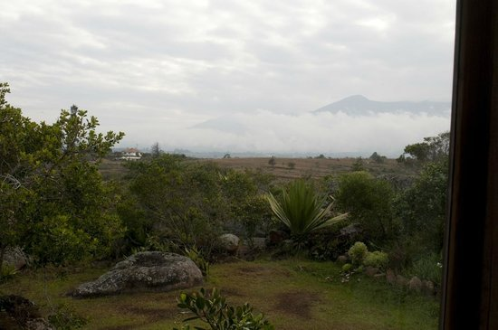 Mawasi Finca: View from the bed