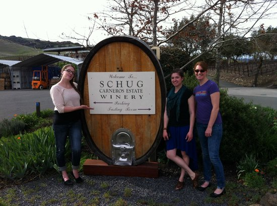 Schug Carneros Estate Winery: Schug Vineyard