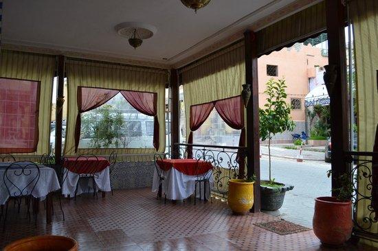 Tijani Hotel: Terrasse de l'hôtel