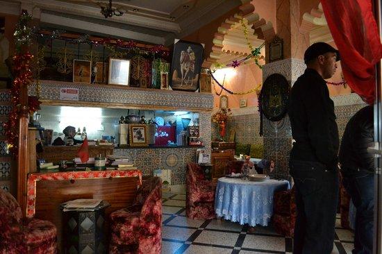 Tijani Hotel: Réception & Salle à manger