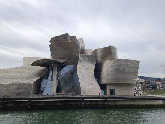 Guggenheim-Museum Bilbao: Fachada norte