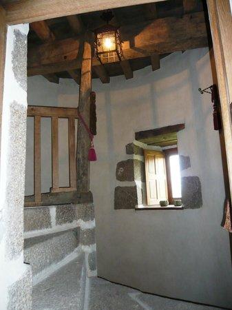 Manoir de la Branche : L'escalier en colimaçon