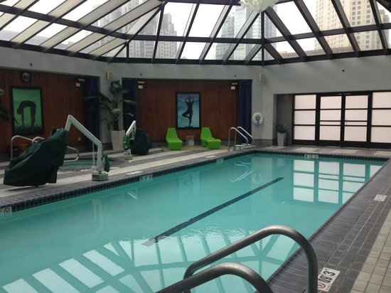 Indoor lap pool - Picture of W San Francisco, San Francisco ...